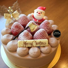 クリスマスショコラショート